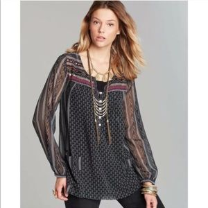 Free People Feather in the Wind Beaded Tunic.